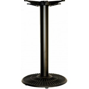 Dome Small Black Base with Large Cross Holder